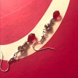 Frontrow.style Jewelry - Sterling Silver Earrings Swarovski Briolettes